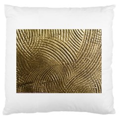 Brushed Gold 050549 Large Flano Cushion Cases (one Side)