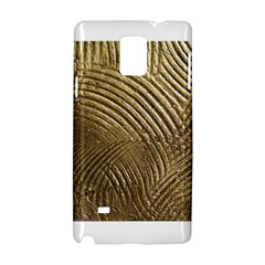 Brushed Gold 050549 Samsung Galaxy Note 4 Hardshell Case by AlteredStates