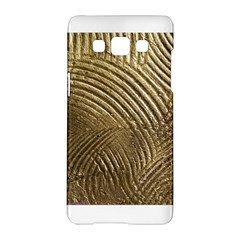 Brushed Gold 050549 Samsung Galaxy A5 Hardshell Case  by AlteredStates
