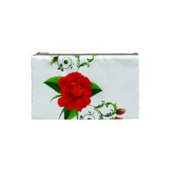 Rose Garden Cosmetic Bag (small)  by AlteredStates