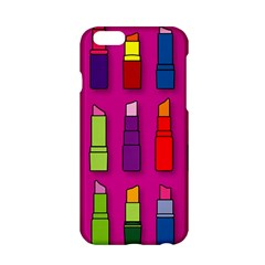 Lipsticks Pattern Apple Iphone 6 Hardshell Case