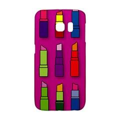 Lipsticks Pattern Galaxy S6 Edge by theimagezone