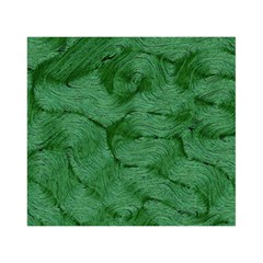Woven Skin Green Birthday Cake 3d Greeting Card (7x5)
