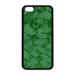 Woven Skin Green Apple Iphone 5c Seamless Case (black) by InsanityExpressed