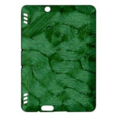 Woven Skin Green Kindle Fire Hdx Hardshell Case by InsanityExpressed