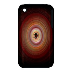 Colour Twirl Apple Iphone 3g/3gs Hardshell Case (pc+silicone)
