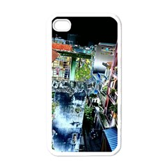 Colour Street Top Apple Iphone 4 Case (white) by InsanityExpressed