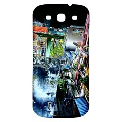 Colour Street Top Samsung Galaxy S3 S Iii Classic Hardshell Back Case by InsanityExpressed