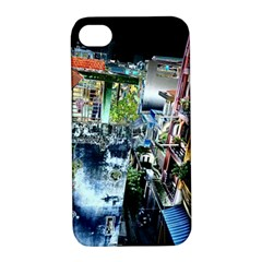 Colour Street Top Apple Iphone 4/4s Hardshell Case With Stand by InsanityExpressed
