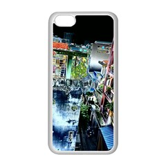 Colour Street Top Apple Iphone 5c Seamless Case (white) by InsanityExpressed