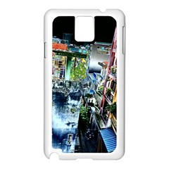 Colour Street Top Samsung Galaxy Note 3 N9005 Case (white) by InsanityExpressed