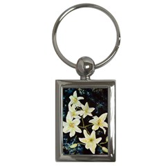 Bright Lilies Key Chains (rectangle)