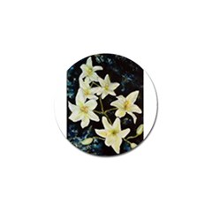 Bright Lilies Golf Ball Marker (4 Pack) by timelessartoncanvas