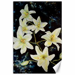 Bright Lilies Canvas 24  X 36  by timelessartoncanvas