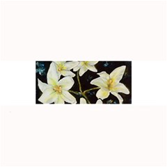 Bright Lilies Large Bar Mats by timelessartoncanvas