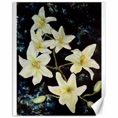 Bright Lilies Canvas 11  x 14   by timelessartoncanvas