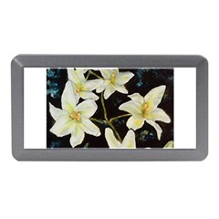 Bright Lilies Memory Card Reader (mini) by timelessartoncanvas