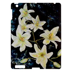 Bright Lilies Apple Ipad 3/4 Hardshell Case by timelessartoncanvas