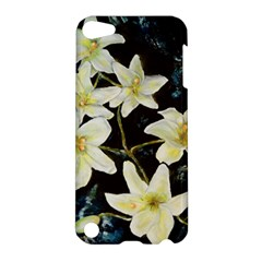 Bright Lilies Apple Ipod Touch 5 Hardshell Case by timelessartoncanvas