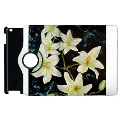 Bright Lilies Apple Ipad 2 Flip 360 Case by timelessartoncanvas