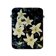 Bright Lilies Apple Ipad 2/3/4 Protective Soft Cases by timelessartoncanvas