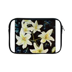Bright Lilies Apple Ipad Mini Zipper Cases by timelessartoncanvas