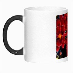 Red Orchids Morph Mugs by timelessartoncanvas