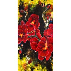 Red Orchids 5 5  X 8 5  Notebooks by timelessartoncanvas