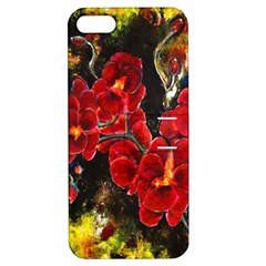 Red Orchids Apple Iphone 5 Hardshell Case With Stand by timelessartoncanvas