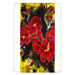Red Orchids Flap Covers (l)  by timelessartoncanvas