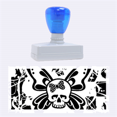 Skull Butterfly Rubber Stamps (large)
