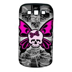Skull Butterfly Samsung Galaxy S Iii Classic Hardshell Case (pc+silicone) by ArtistRoseanneJones