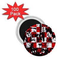 Emo Checker Graffiti 1 75  Magnets (100 Pack)  by ArtistRoseanneJones