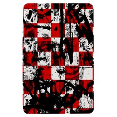 Emo Checker Graffiti Kindle Fire (1st Gen) Hardshell Case by ArtistRoseanneJones