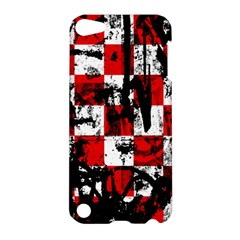 Emo Checker Graffiti Apple Ipod Touch 5 Hardshell Case by ArtistRoseanneJones