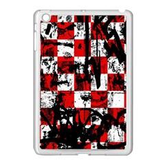 Emo Checker Graffiti Apple Ipad Mini Case (white) by ArtistRoseanneJones