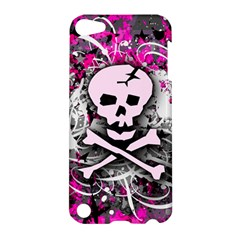 Pink Skull Splatter Apple Ipod Touch 5 Hardshell Case by ArtistRoseanneJones