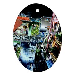 Colour Street Top Ornament (oval)  by InsanityExpressed