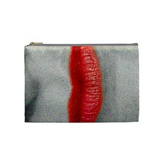 Lips Cosmetic Bag (medium)  by theimagezone
