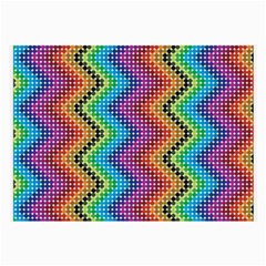 Aztec 3 Large Glasses Cloth by theimagezone