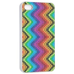 Aztec 3 Apple Iphone 4/4s Seamless Case (white) by theimagezone