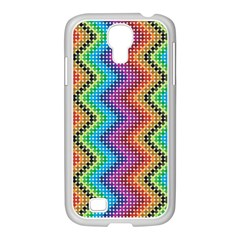 Aztec 3 Samsung GALAXY S4 I9500/ I9505 Case (White) by theimagezone