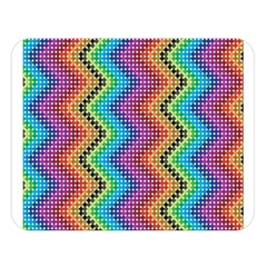 Aztec 3 Double Sided Flano Blanket (large)  by theimagezone