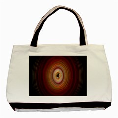 Colour Twirl Basic Tote Bag (two Sides)  by InsanityExpressed