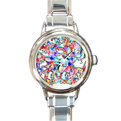 Soul Colour Light Round Italian Charm Watches by InsanityExpressed