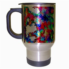 Soul Colour Light Travel Mug (silver Gray) by InsanityExpressed