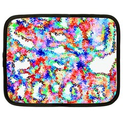 Soul Colour Light Netbook Case (xl)  by InsanityExpressed