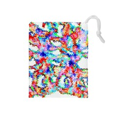 Soul Colour Light Drawstring Pouches (medium)  by InsanityExpressed