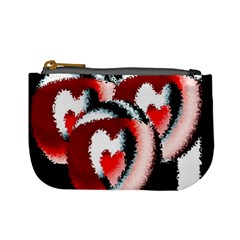 Heart Time 3 Mini Coin Purses by InsanityExpressed