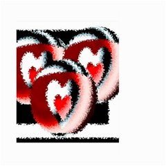 Heart Time 3 Large Garden Flag (Two Sides)